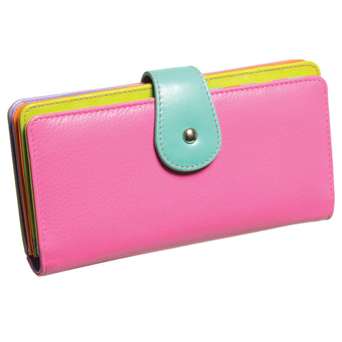 Palm Beach Leather Clutch