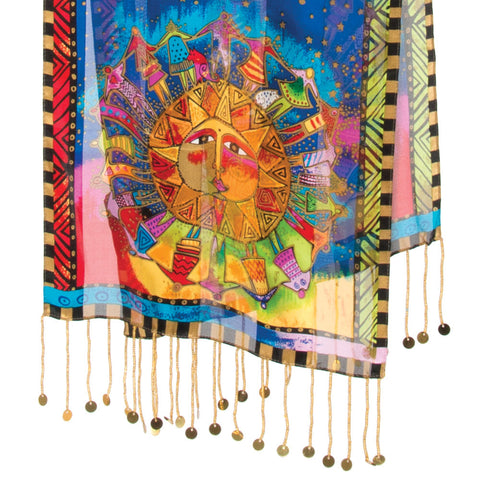 Harmony Under the Sun Silk Scarf