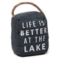 At The Lake Sandbag Doorstop (NB)