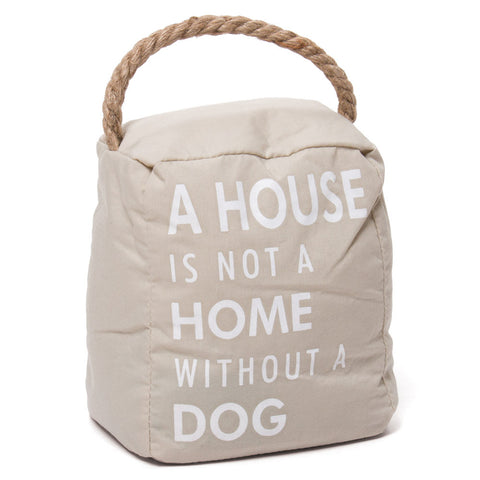 Dog Sandbag Doorstop (NB)