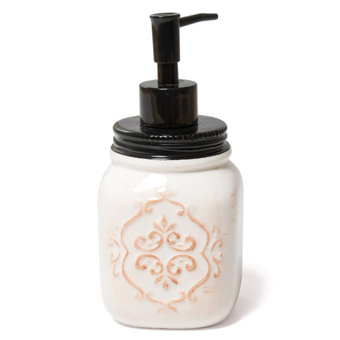 Ceramic Mason Jar Soap Pump