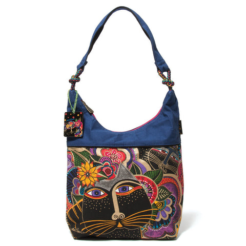 Laurel Burch 'Carlotta's Cats' Scoop Tote (NB)