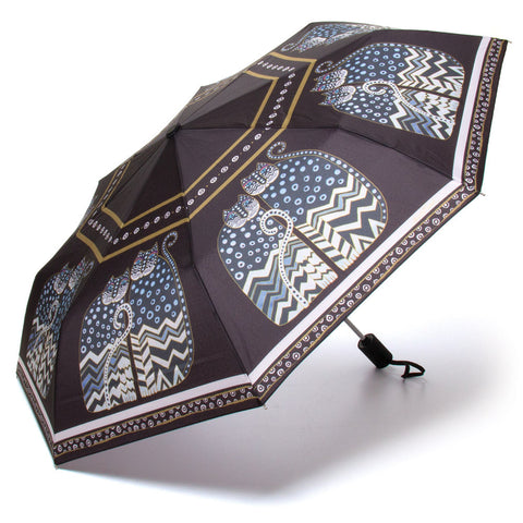 Polka Dot Gatos Compact Umbrella (NB)