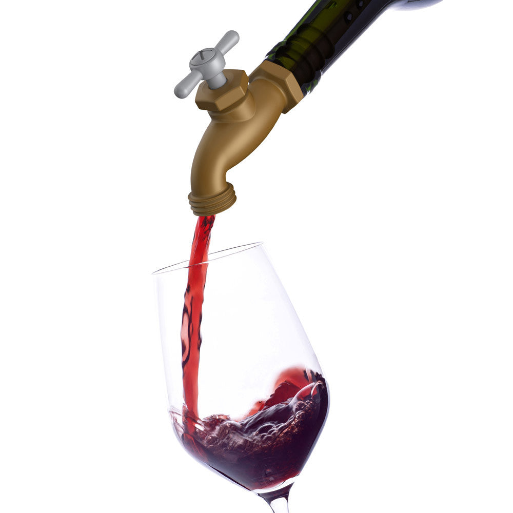 Faucet Wine Stopper & Aerator