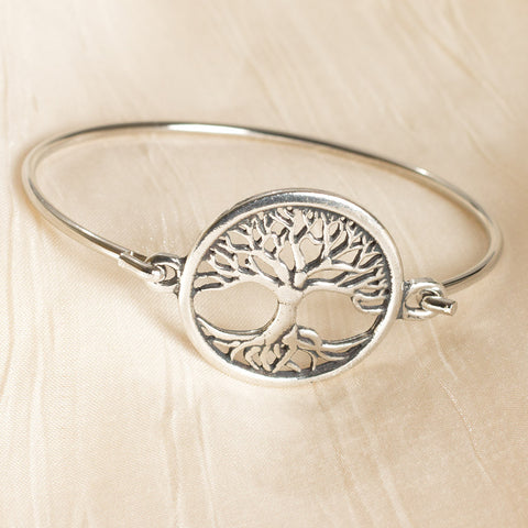 Tree of Life Bangle Bracelet