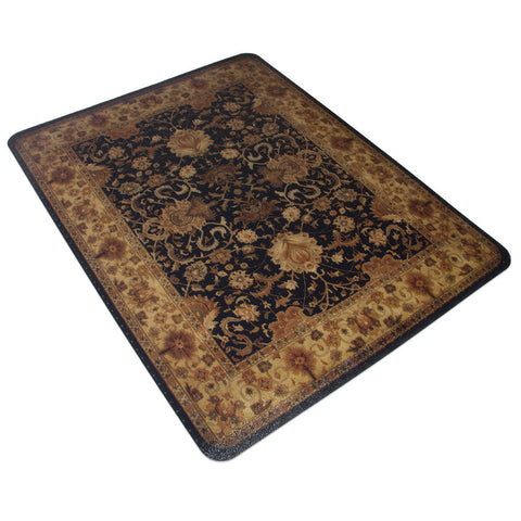 Decorative 'Rug' Office Chair Mat
