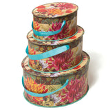 Floral Nested Gift Box Trio (NB)