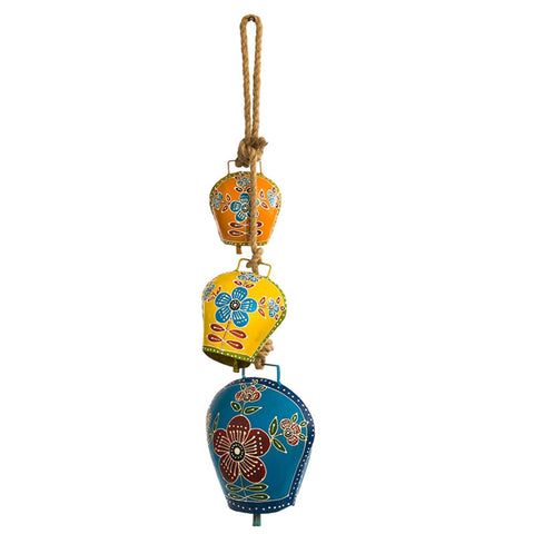 Colorful Cow Bells Wind Chime