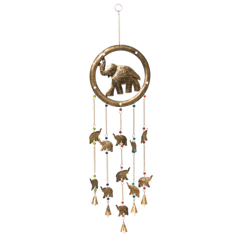 Indian Elephant Wind Chime (NB)