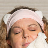 Cat Ears Plush Spa Headband