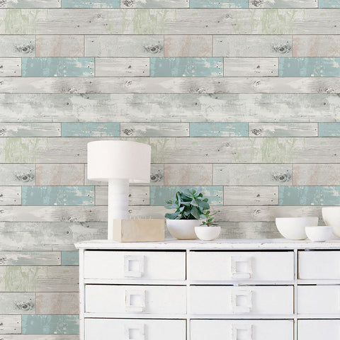 Beachwood Wallpaper Wall Decal (NB)