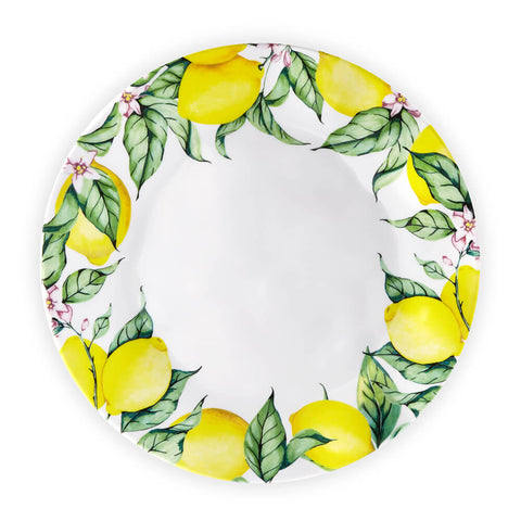 Limonata Ruffled Dinner Plates