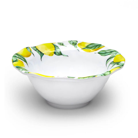 Limonata Ruffled Cereal Bowls