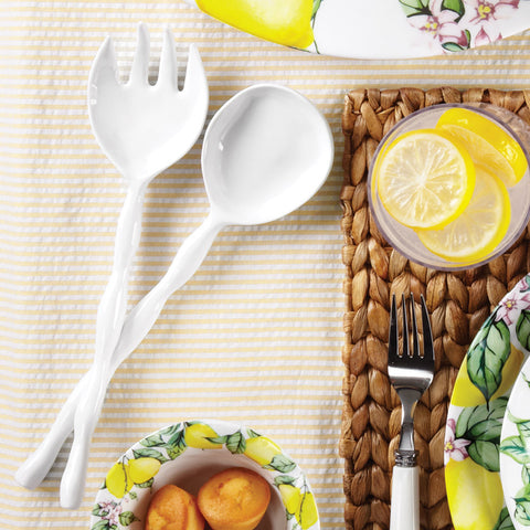 Melamine Salad Servers