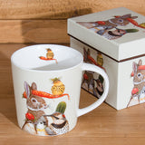 Harvest Party Bone China Mug