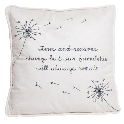 Wish for a Friend Microsuede Pillow (NB)