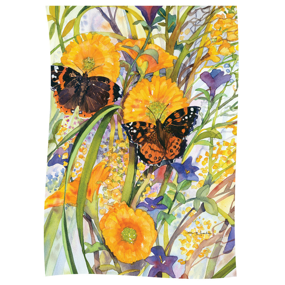 Monarch Meadow Garden Flag