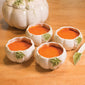 White Pumpkin Soup Bowls, Set of 4 (NB)