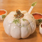 White Pumpkin Tureen With Ladle (NB)