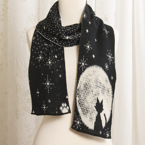 Moonlight Kitten Scarf