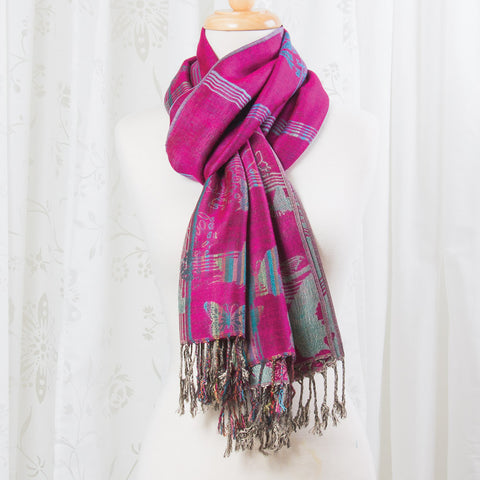 Butterfly House Pashmina Scarf (NB)