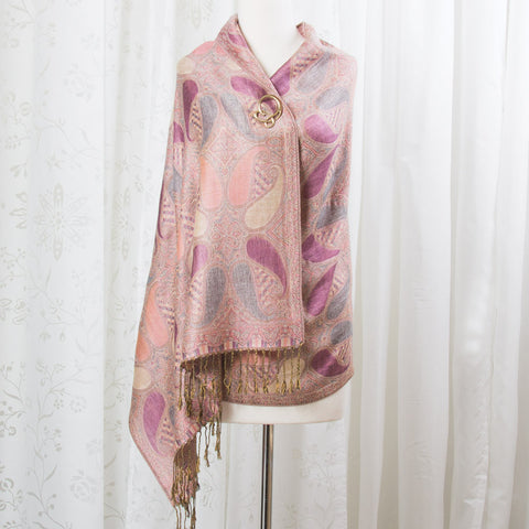 Painted Desert Paisley Scarf (NB)