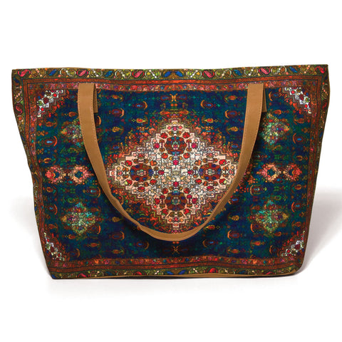 Persian Rug Design Tote Bag