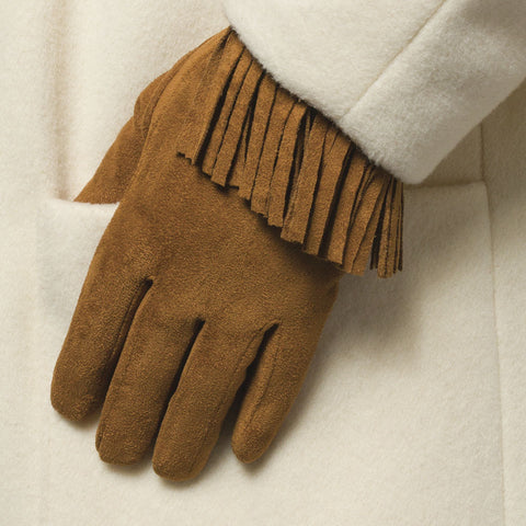Velvety Touchscreen Gloves
