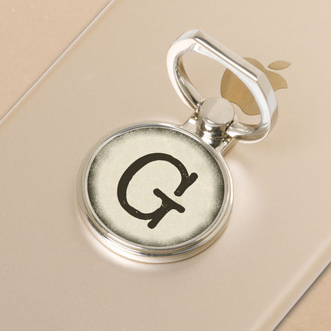 Typewriter Key Phone Holder Ring (1 Char)