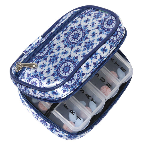 Pretty 7-Day Pill Pouch/Case