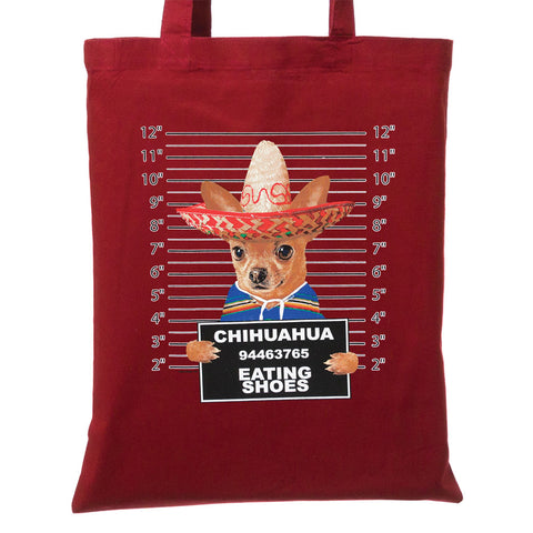 Dog Pound Mugshots Shopping Tote