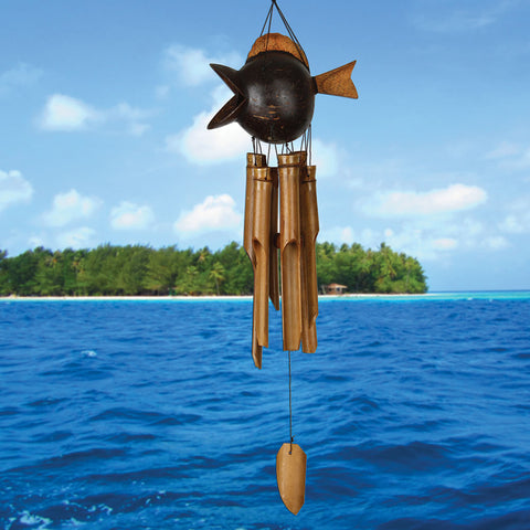 Coco Fish Bamboo Chime