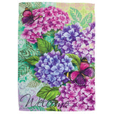 Beautiful Hydrangeas Garden Flag
