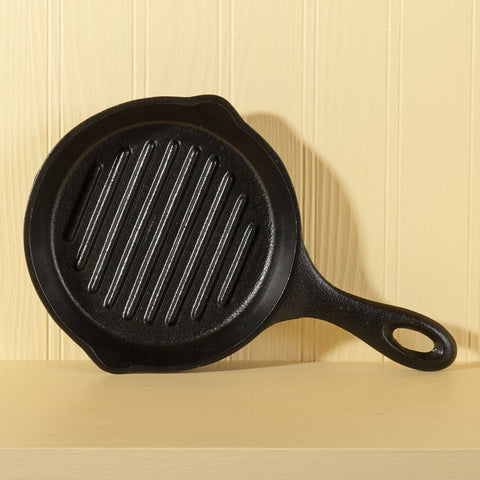 Mini Cast Iron Grill Pan