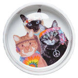 Groovy Cats Pet Bowl
