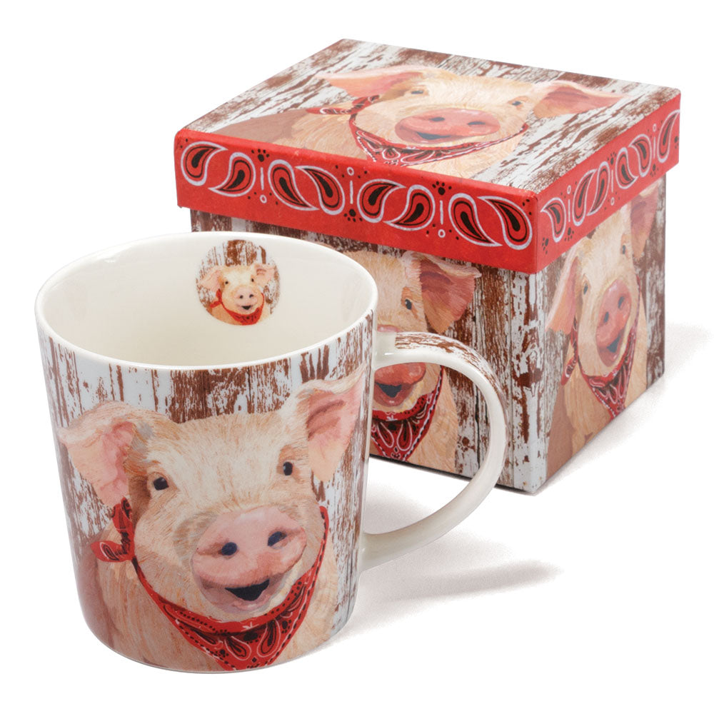 Charlotte The Pig Bone China Mug