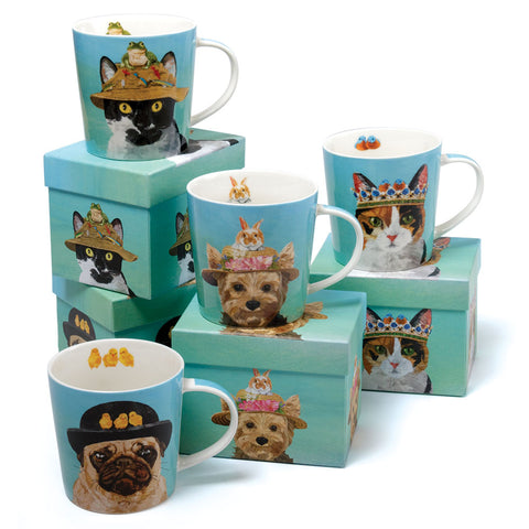 Benny The Cat Bone China Mug