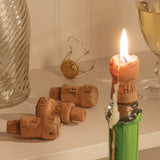 Champagne Cork Candles, Set of 4