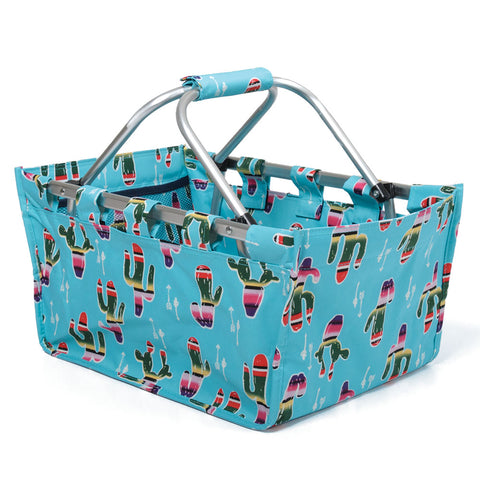 Southwest Serape Collapsible Picnic Basket (NB)