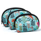 Folk Art Birds In Blue Cosmetic Bags (NB)