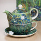 Van Gogh 'Irises' Tea For One