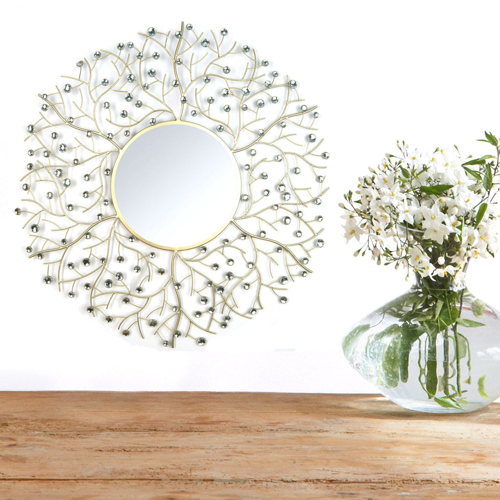 Eloise Beaded Wall Mirror