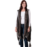 Load image into Gallery viewer, Womens Multi-Color Textured Vest at Linda Anderson