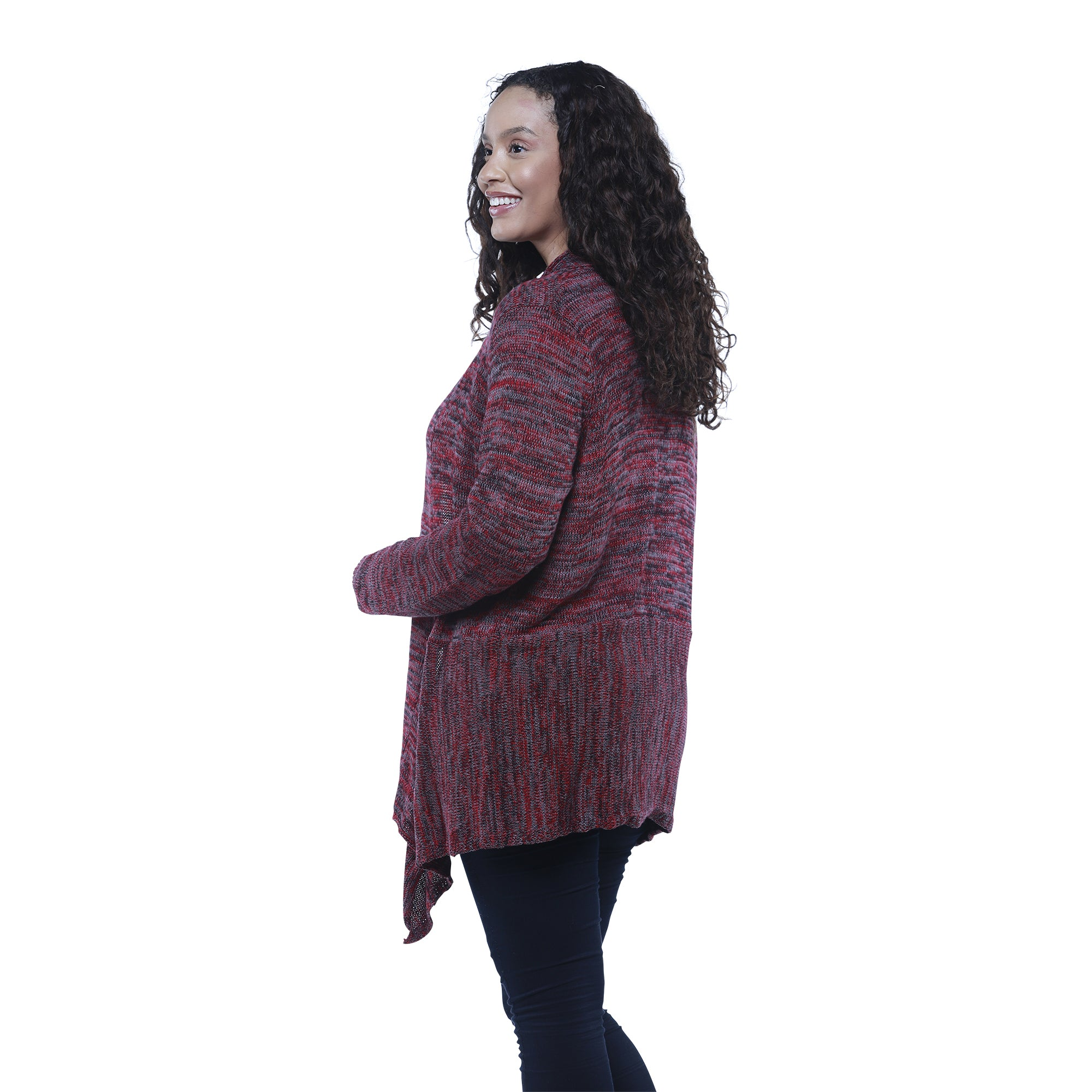 Cabin Space Dye Cardigan Sweater