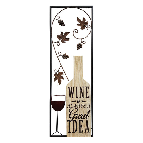 Wine Panel Wall Decor
