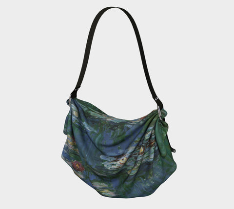 Monet's Water Lilies Origami Sling
