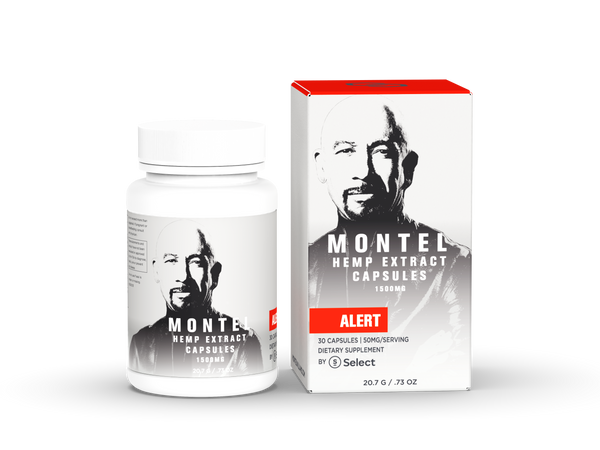 Alert - Montel by Select Capsules - 50mg ea. - Select CBD®
