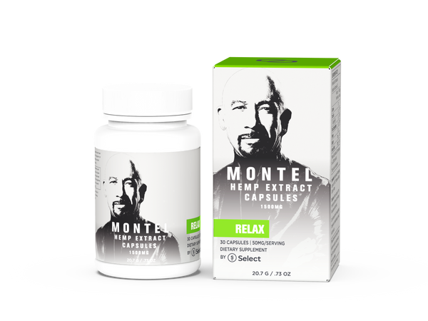 Relax - Montel by Select Capsules - 50mg ea. - Select CBD®