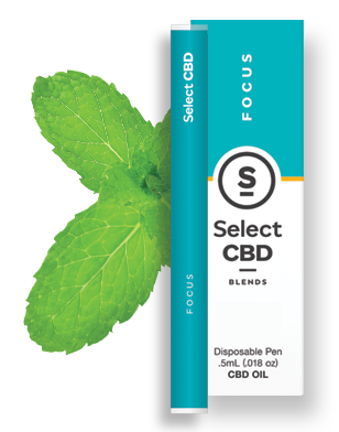 Focus | Spearmint Vape Pen - 250mg - Select CBD®