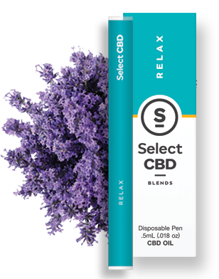 Relax | Lavender Vape Pen - 250mg - Select CBD®